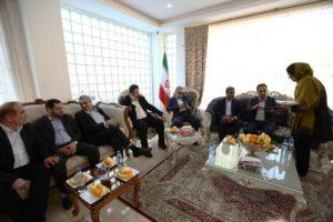 بازدید رییس سازمان منطقه آزاد از پروژه درسا مهر کیش